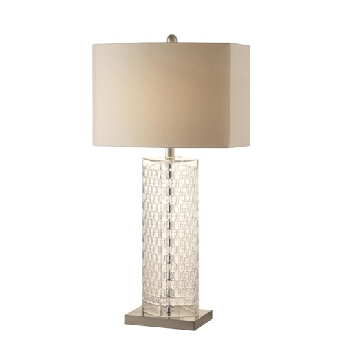 Coaster Table Lamps Contemporary Clear Glass Lamp