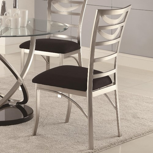 Coaster Tapia Dining Side Chair w/ Upholstered Seat