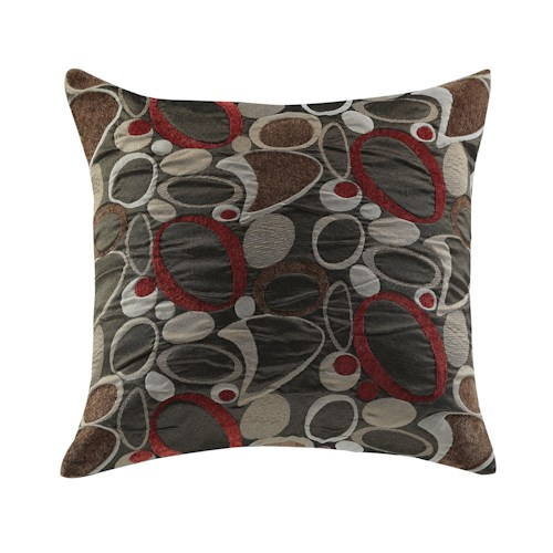 Coaster Throw Pillows Oblong Geometric Pillow
