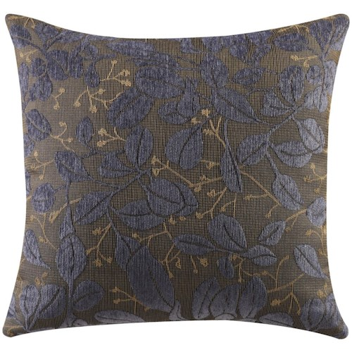 Coaster Throw Pillows Paisley Leaf Accent Pillow