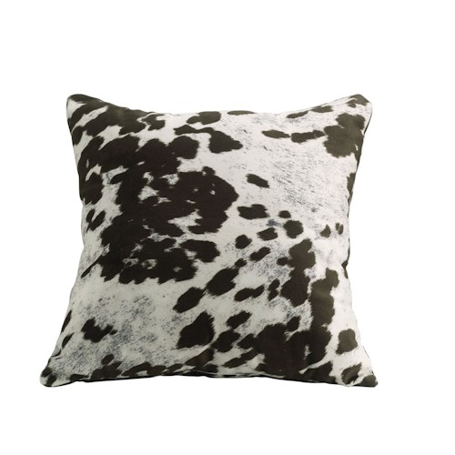 Coaster Throw Pillows Brown Cow Pillow