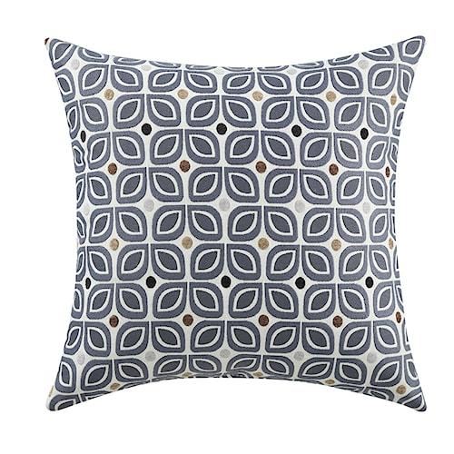 Coaster Throw Pillows Tinted Blue Geometric Pillow