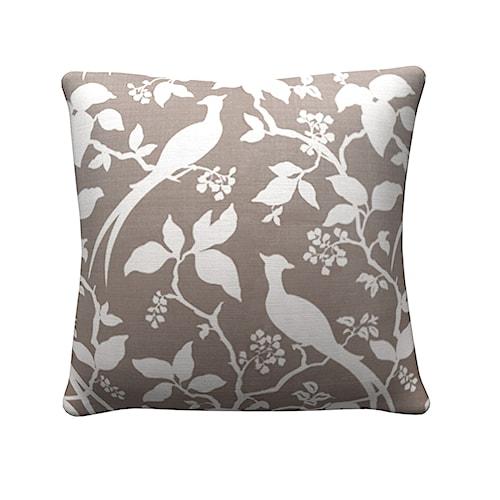 Coaster Throw Pillows Grey Floral Pillow