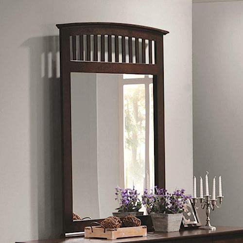 Coaster Tia Vertical Dresser Mirror