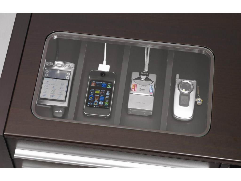 Detail of CONNECT-IT Power Drawer (Shown on Similar Item)