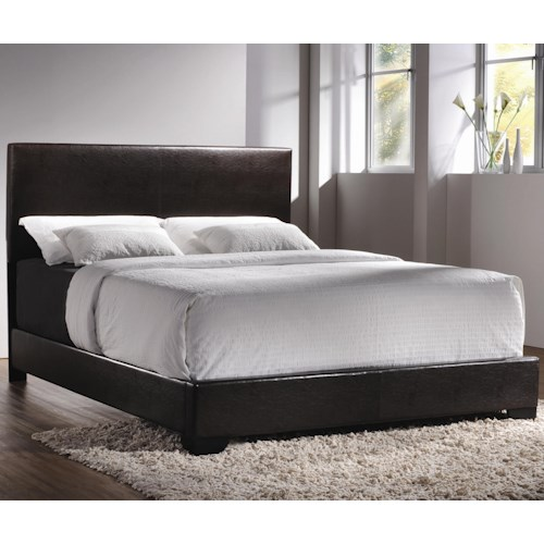 Coaster Upholstered Beds Contemporary Queen Upholstered Low-Profile Bed