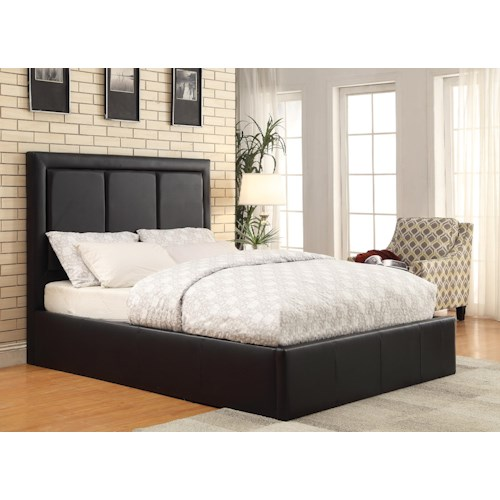 Coaster Upholstered Beds Full Jacobsen Upholstered Bed