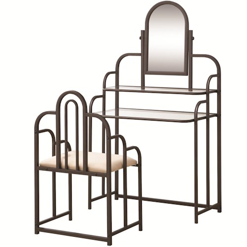 Coaster Vanities Two Piece Traditional Vanity Set