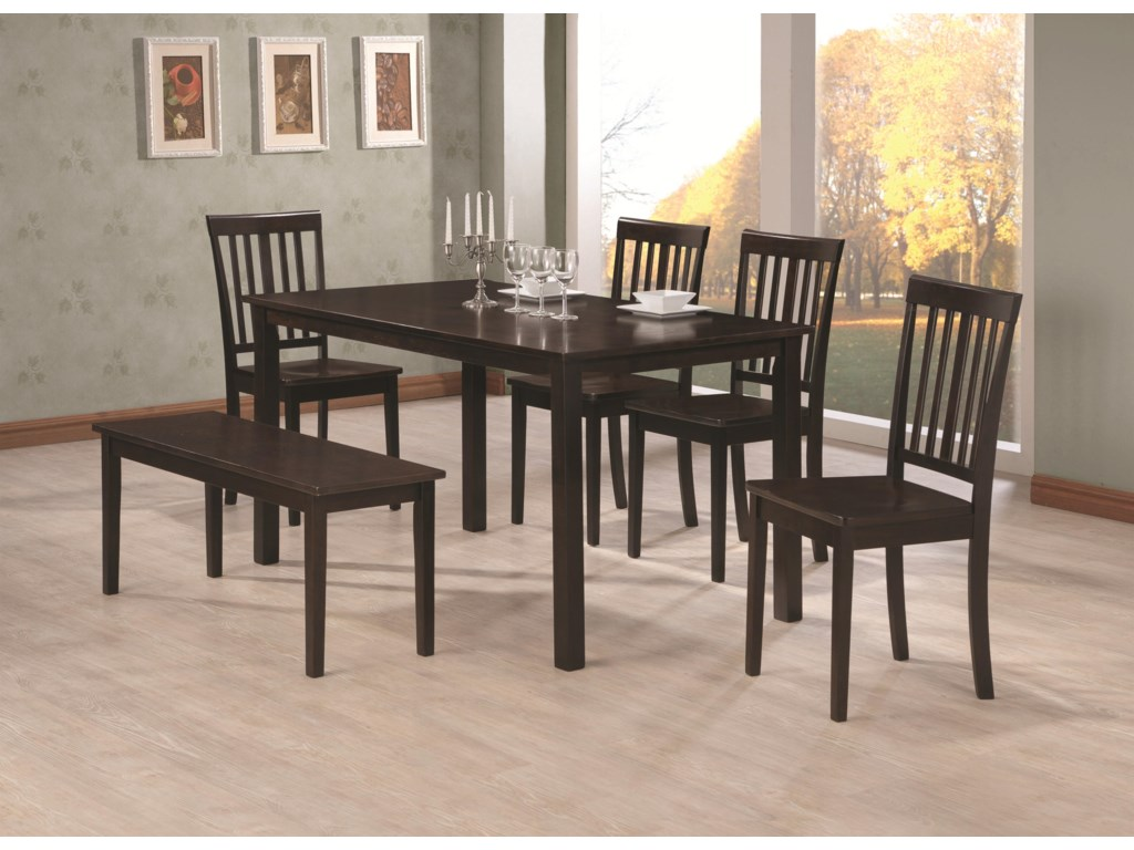 Shown with Dining Table and Dining Side Chair.