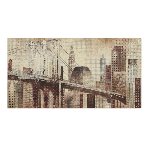 Coaster Wall Art Cityscape Wall Art