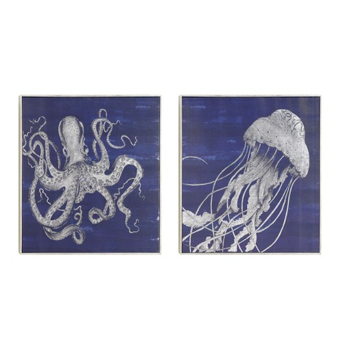 Coaster Wall Art Sea Creatures Wall Art
