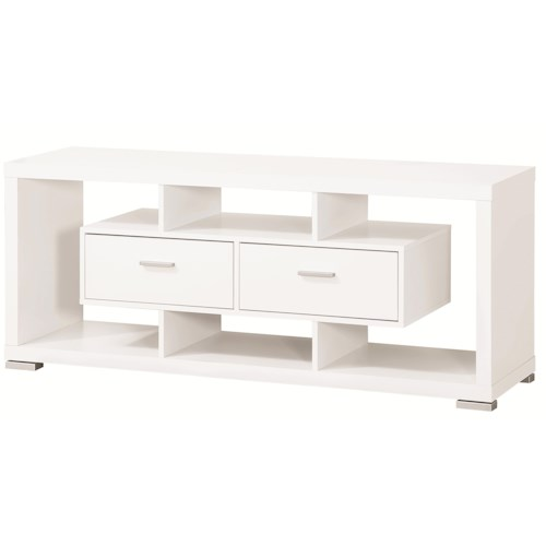 Coaster Entertainment Units Modern TV Console