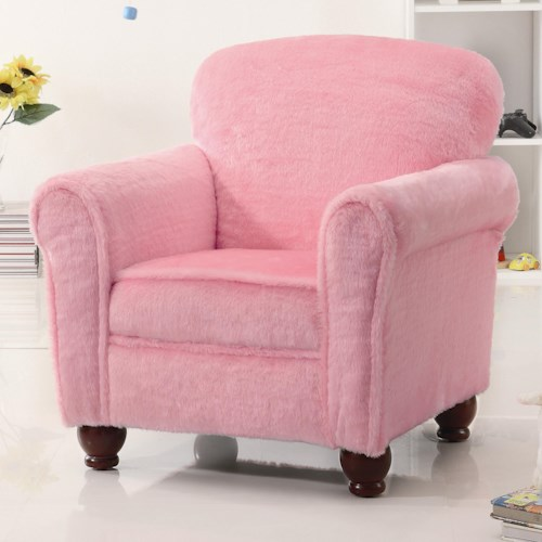 Coaster Youth Seating and Storage Kids Upholstered Accent Chair