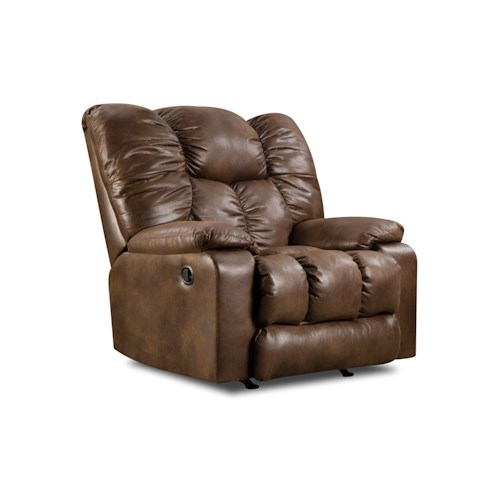 Simmons Upholstery 692M Rocker