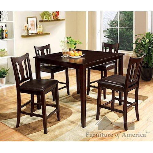 Furniture of America / Import Direct CM3888 5 piece set