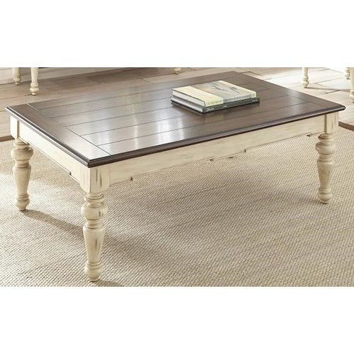 Morris Home Furnishings Johnson Valley Cocktail Table