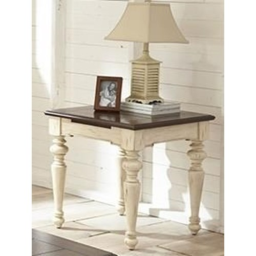 Morris Home Furnishings Johnson Valley End Table