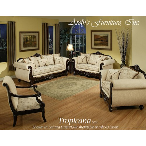 Del Sol Exclusive Tropicana By Arely's Furniture Tropicana Love Seat Collection