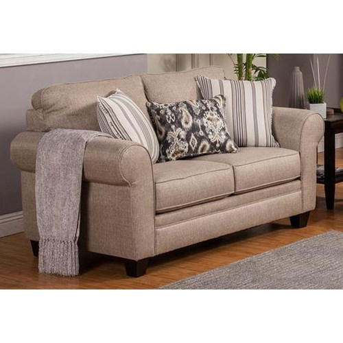 Comfort Industries Craig Casual Loveseat