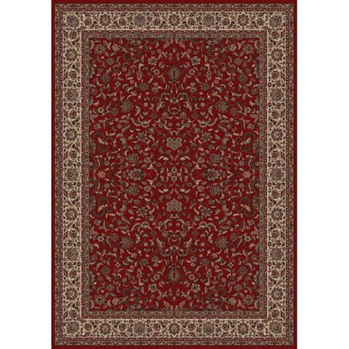 Concord Global Trading Inc. Presidential 6.7 x 9.6 Area Rug : Red
