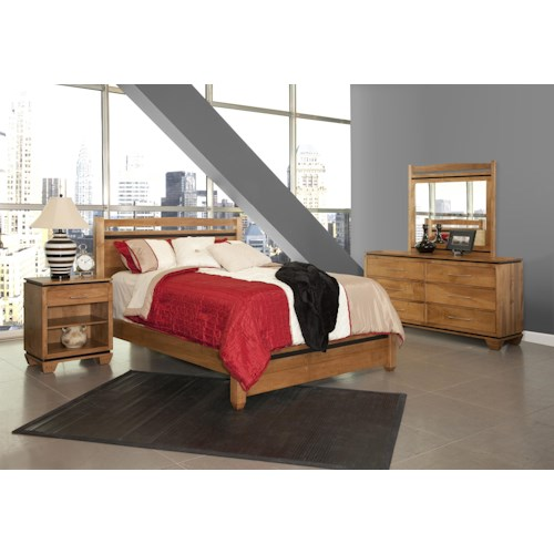 Conrad Grebel Binghamton Queen Bedroom Group