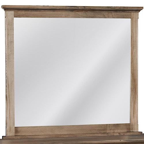 Conrad Grebel Madison Dresser Mirror with Mantle Frame
