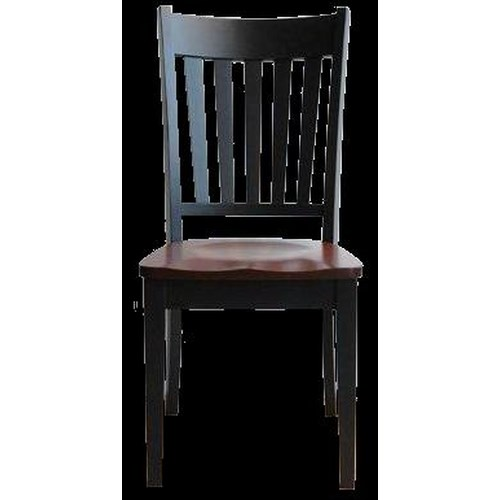 Conrad Grebel Montclair  Dining Side Chair with Slat Back