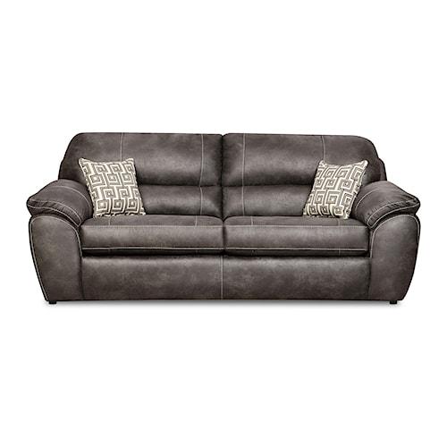 Corinthian Ulysses Charcoal Ulysses Charcoal Queen Sofa Sleeper