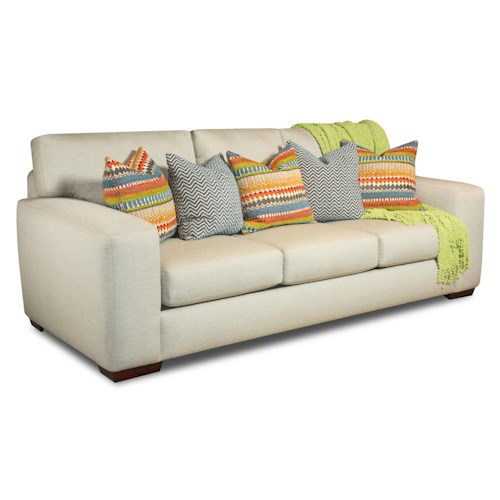 Corinthian 28A0 Sofa with Contemporary Style