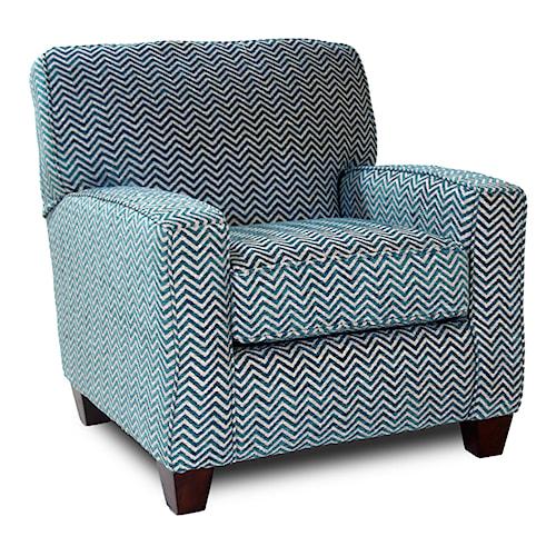 Corinthian 28A0 Contrast Accent Chair