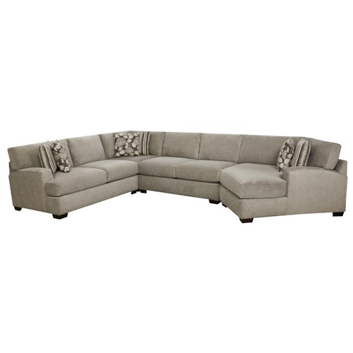 Corinthian 29A0 Sectional Sofa with 5+ Seats