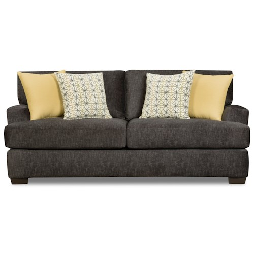 Corinthian 29C0 Sofa with Two Seat Cushions