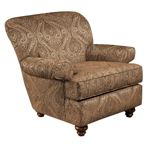 Corinthian 33A Casual Styled Specialty Accent Chair