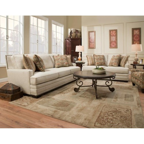 Corinthian 34A0 Living Room Group