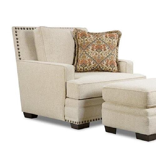Corinthian Sugarshack Linen Chair