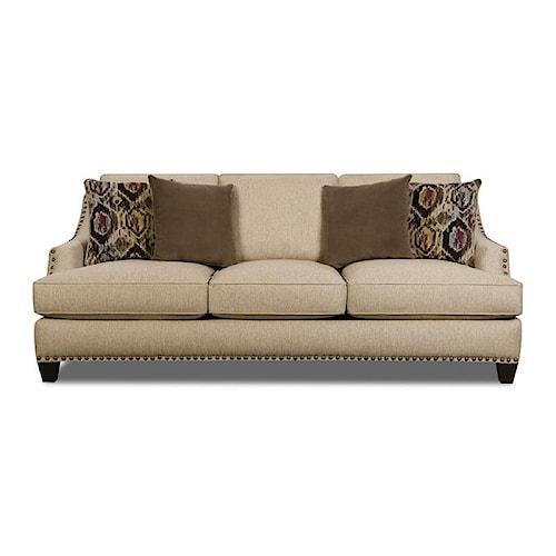 Corinthian 44A Jute Sofa