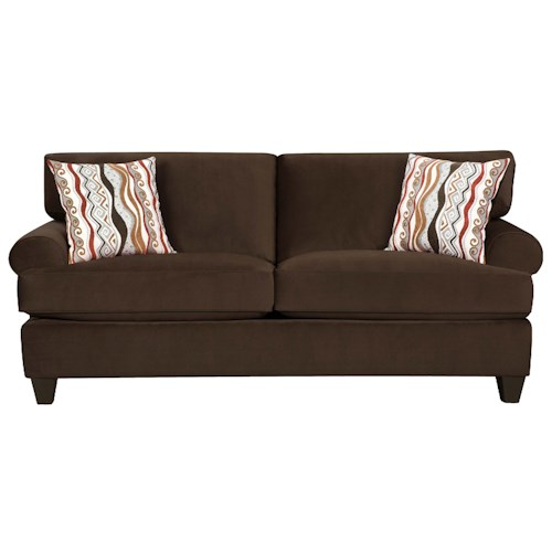 Corinthian 47A0  Contemporary Living Room Sleeper Sofa