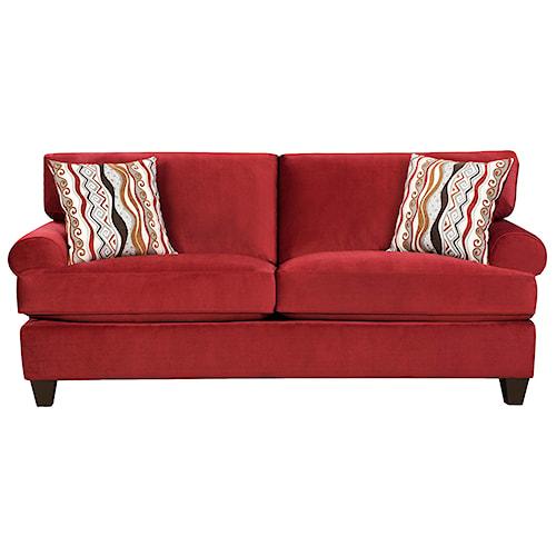 Corinthian 47B0  Casual and Contemporary Living Room Sleeper Sofa