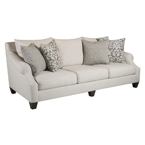 Corinthian 56A0 Lavish Cream Sofa