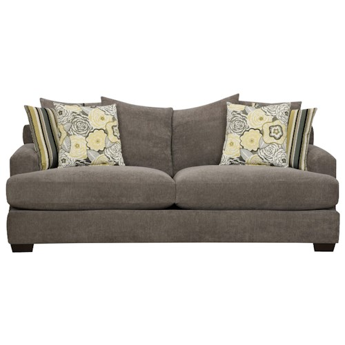 Corinthian 7810 Casual Sofa with Contemporary Style