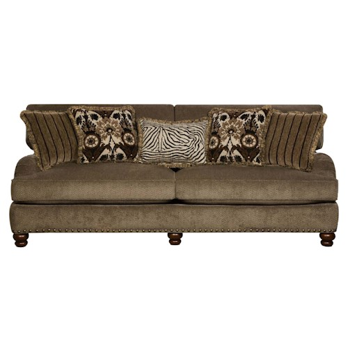Corinthian 8010 Prodigy Mink Sofa