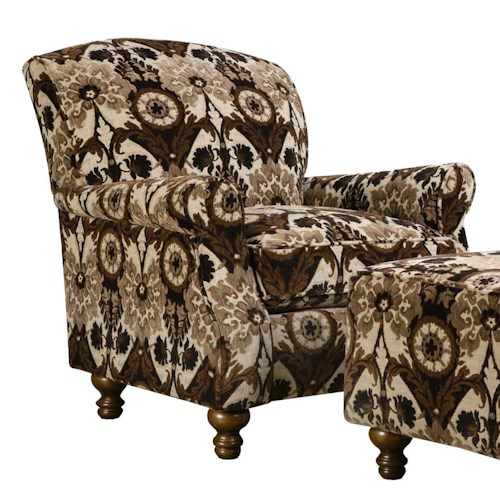Corinthian 8010 Contrast Accent Chair