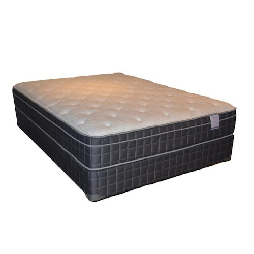 Corsicana 100 Eurotop Full 100 Eurotop Mattress and Box Spring