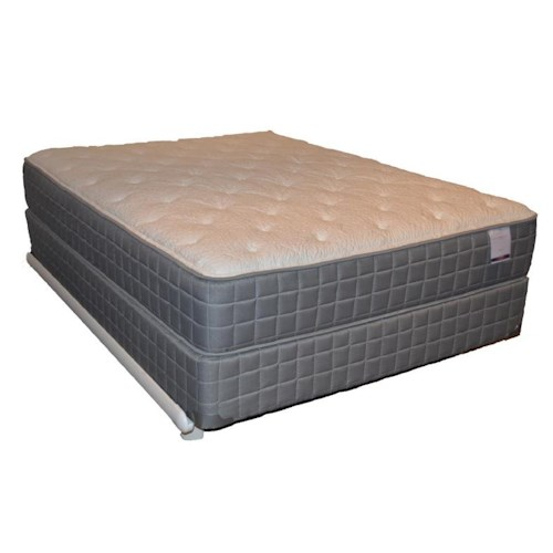 Corsicana 120 Plush Queen 120 Plush Mattress and Box Spring