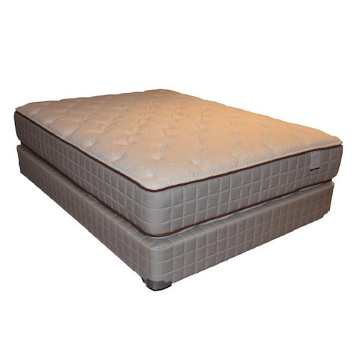 Corsicana 275 Two Sided Plush Twin 275 Two Sided Plush Mattress and Box Spring