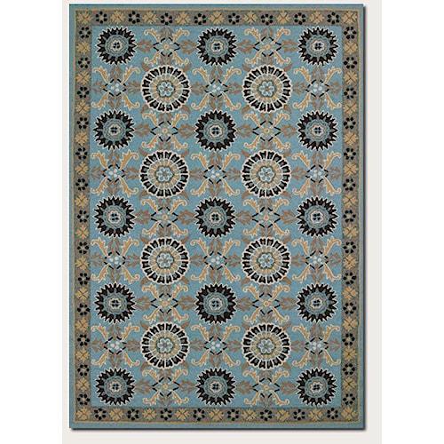 Couristan Starcrest 5.6 x 8 Area Rug : Blue
