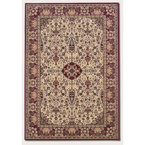 Couristan Ellington 7.10 x 11.2 Area Rug : Ivory