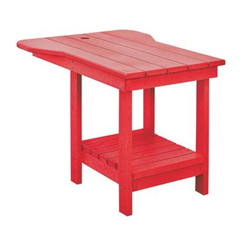 C.R. Plastic Products Adirondack - Red Tete-a-Tete