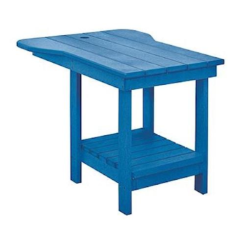 C.R. Plastic Products Adirondack - Blue Tete-a-Tete