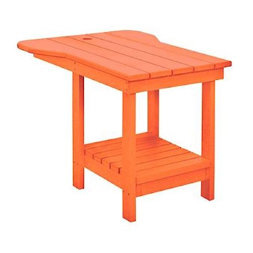C.R. Plastic Products Adirondack - Orange Tete-a-Tete